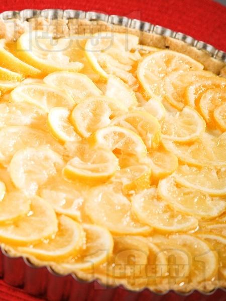 Тарта сладкиш с лимони и портокали - снимка на рецептата